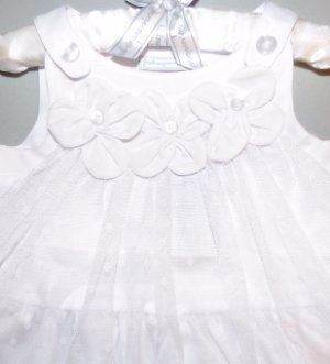 a9fc60d0be5e34 FIRST IMPRESSIONS® Baby Girl's 12M White 2 Pc. Top & Legging Set NWT $39