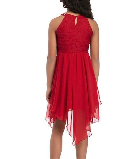 8 Gold Cardigan Foil Plaid Holiday Dress NWT $68 RARE EDITIONSВ® Girls/' 7
