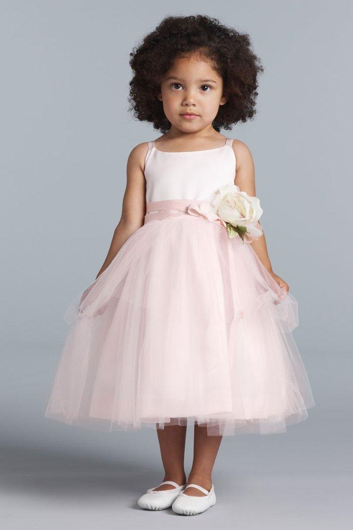 ea0906781633 Details about US ANGELS Baby Girl 24M Satin & Tulle Ballerina Dress w/  Flower NWT $146