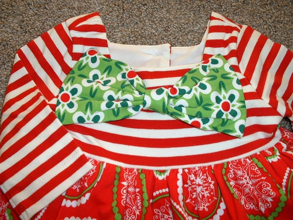 Rare Editions Christmas Dresses.Girl Rare Counting Set Editions Christmas 12m Girl 18m Nwt