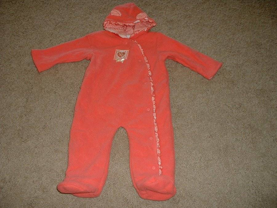 Baby Girls Little Wonders Kitty Snowsuit Pram Winter Size 6 9 Months