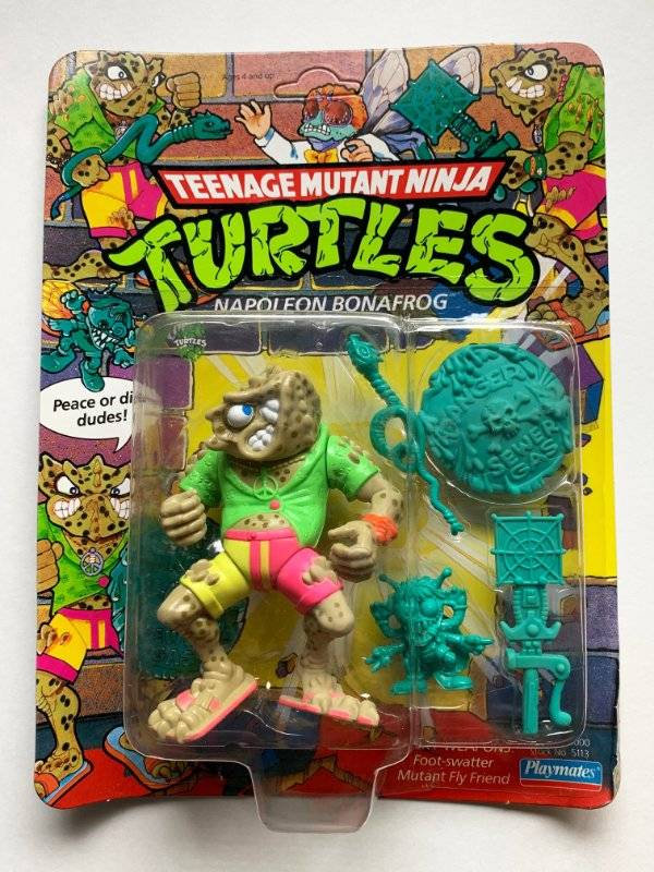 Teenage Mutant Ninja Turtles:1990:Accessory:Napoleon Bonafrog FOOT-SWATTER