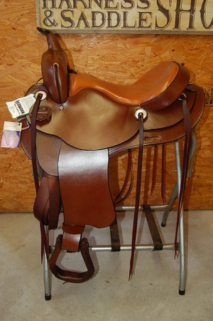 Details about G W  CRATE FLEX LITE TRAIL SADDLE CUSTOM MADE IN BRYANT  ALABAMA