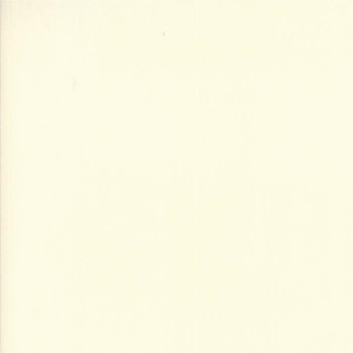 BTY Solid White Fabric Yardage 9900 98 Moda Bella Solids WHITE Fabric 1 Yard Cut