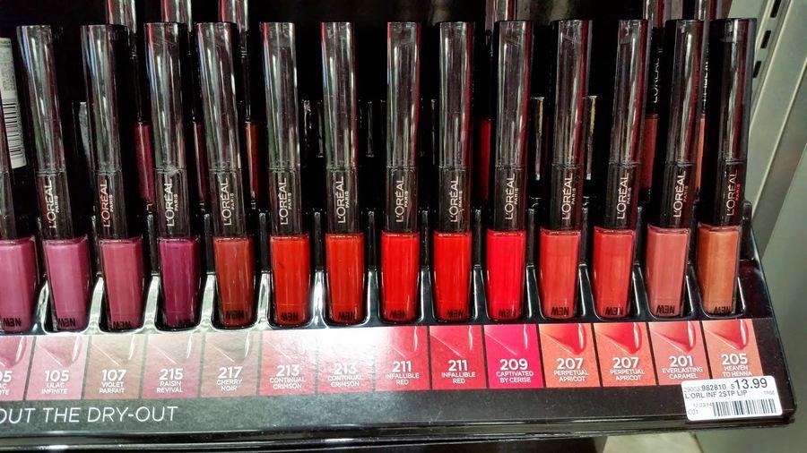 Loreal Lip Gloss Shades L'OREAL INF...