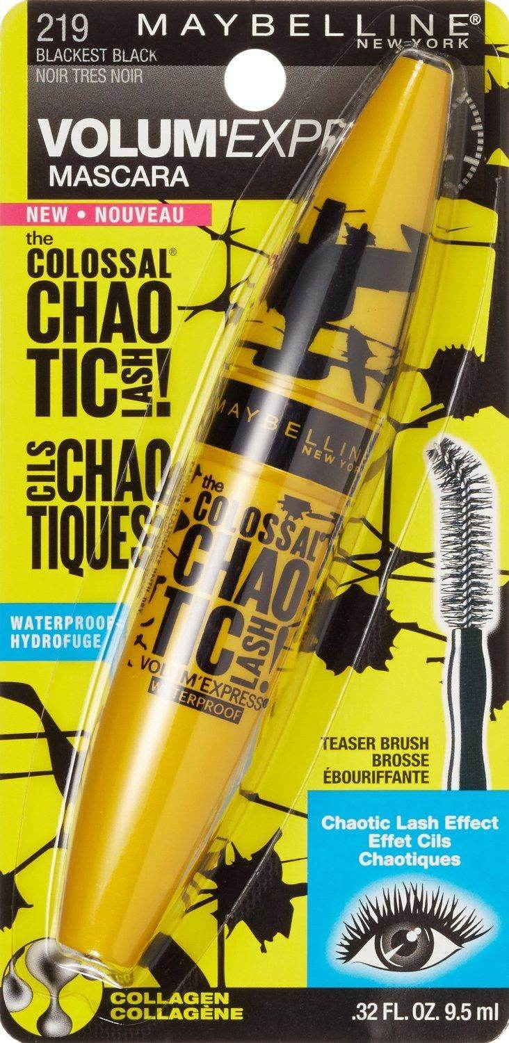 d84f463b10e Details about MAYBELLINE VOLUM' EXPRESS THE COLOSSAL CHAOTIC LASH MASCARA  SEALED SELECT TYPE
