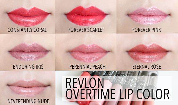 Make up factory lipstick swatches
