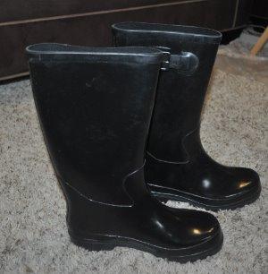 36f72859f040 NIB-Womens Rugged Outback Tsunami Black Rain Boots-size 7