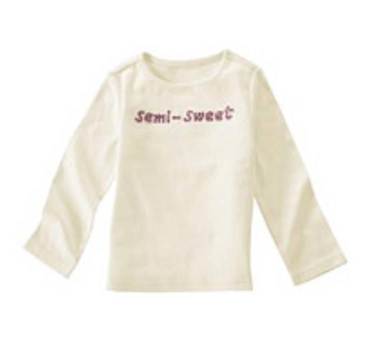 NWT Gymboree Girls Long Sleeve SWEET Top Tee Shirt NEW