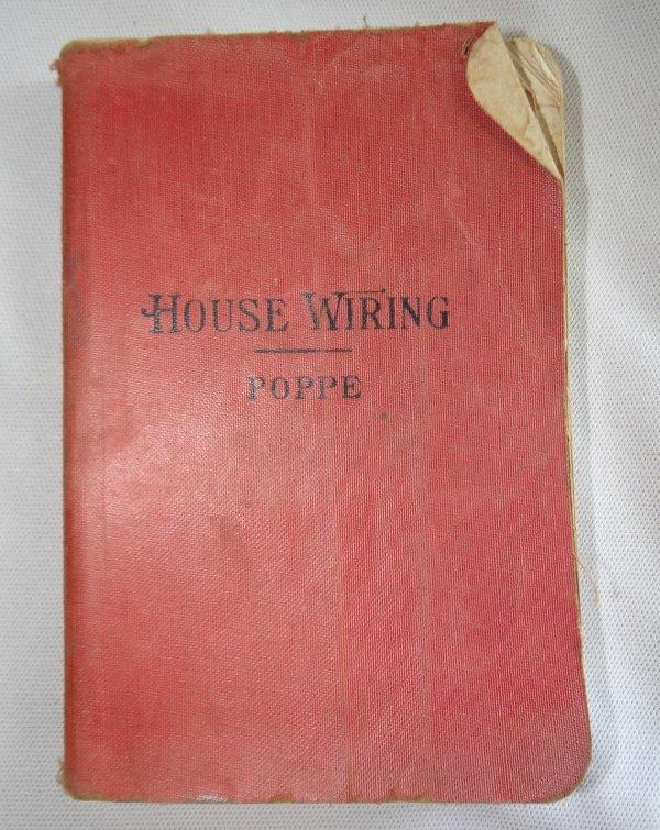 Pleasing 1937 House Wiring Book By Poppe Illustrated Plus Advertising Ebay Wiring Cloud Hisredienstapotheekhoekschewaardnl