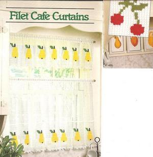 Filet Crochet Curtain Patterns - HASS DESIGN